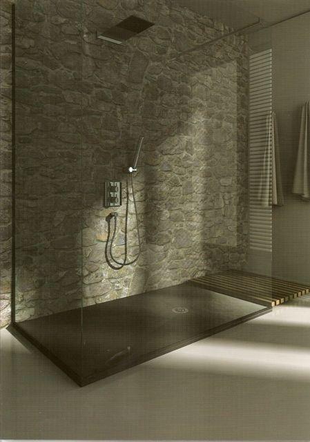 Plato de ducha 07 silex modelo pizarra ideas para el for Cuartos de bano beige