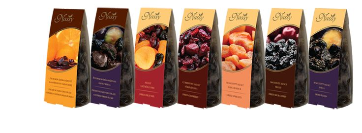 Standard csomagolások, különféle ízvilágok! 100 g-os csomagolásunk meggy, szilva, sárgabarack, vörösáfonya, csokoládéba mártott szilva és csokoládéba mártott narancshéj ízekben! #Nassy #chocolates #dried #fruits #finom #best #standard #csomagolás