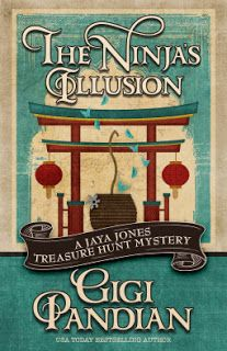 A Bookaholic Swede: #BookReview The Ninja's Illusion by Gigi Pandian (@GigiPandian) @HeneryPress