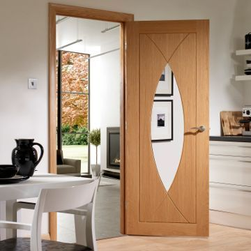 Pesaro Oak Internal Door #glazeddoors & 148 best Interior Doors \u0026 Internal Doors at Emerald Doors images ... Pezcame.Com