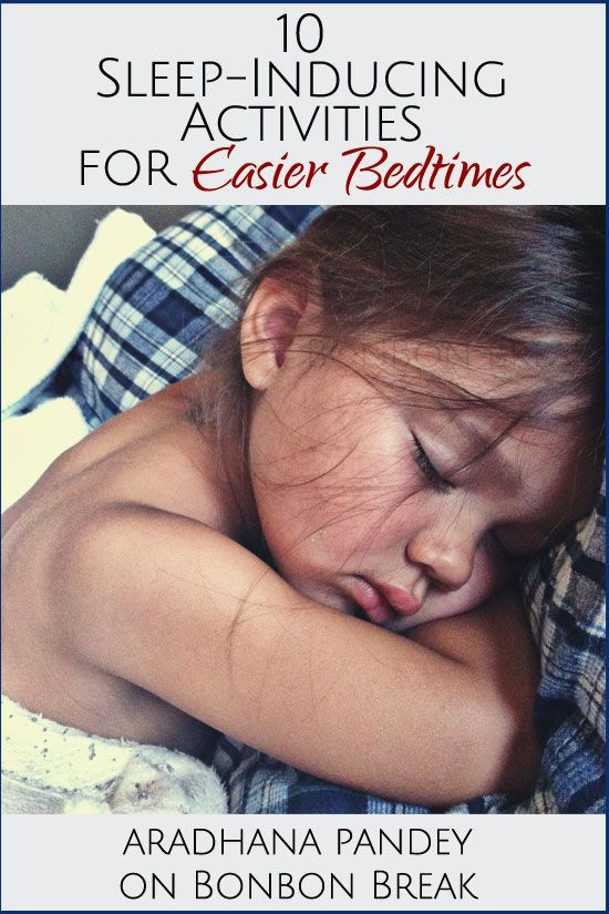 10 Activities for Easier Bedtimes