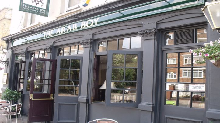 The Arab Boy - this is set in a highly sought area of West Putney. The pioneering menu speaks volumes within this traditional and stylish up-market pub with an extensive range of wines, beers & ales to compliment the British classics & modern European food, served from the seasonally changing menu.