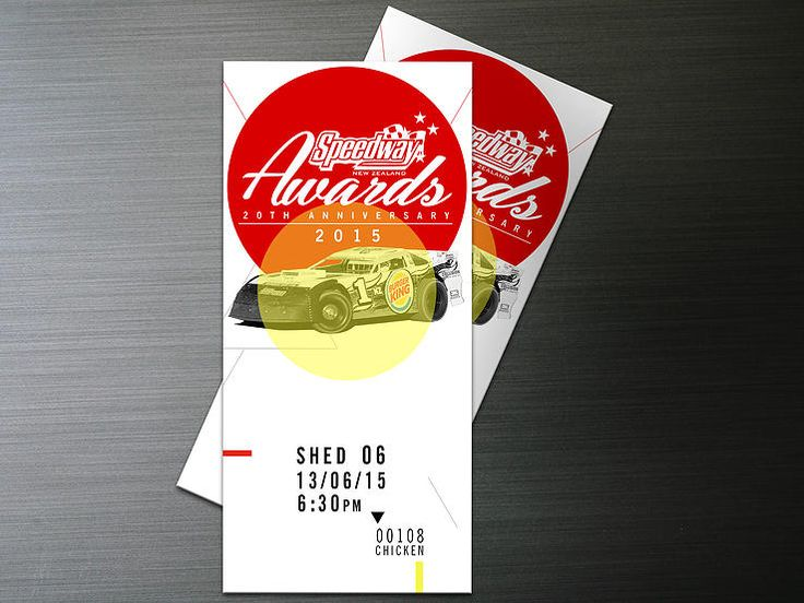 Johnny Huynen | Graphic Design | speedway 2015