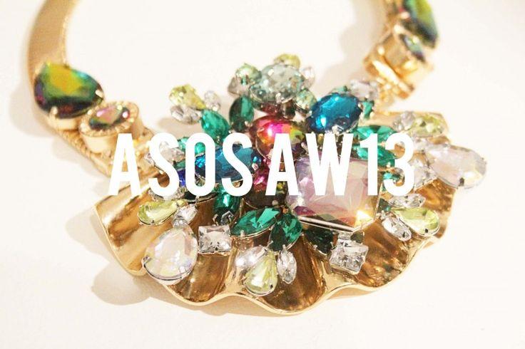 A sneak peek at ASOS AW13