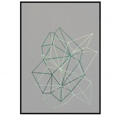 Komposition nr. 29, paper cut