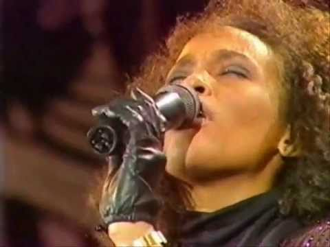 He / I Believe - Gospel - Whitney & Cissy Houston Duet Live.  It is my strong belief that Whitney Houston needed to go back to her roots and sing Gospel with her mother, it was where she found peace and happiness.
