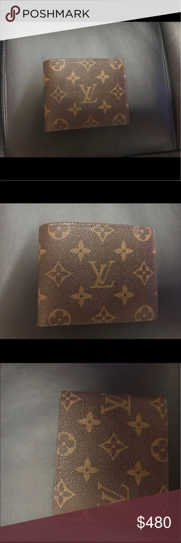 Louis Vuitton Monogram Canvas Louis Vuitton Monogram Canvas (Men) (excellent condition) (minor flaw) Louis Vuitton Bags Wallets