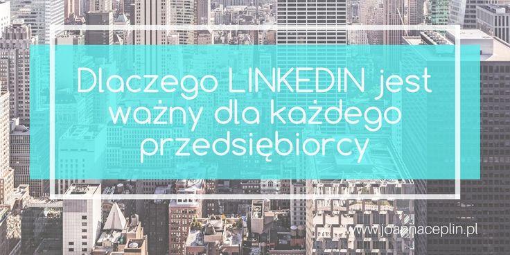 """Dostęp. Komunikacja. Szybkość. 400 mln osób naplatformie Linkedin toogromny potencjał dla wszystkich, którzybudują swój biznes, chcą go rozwijać inawiązywać kontakty. Jest todoskonałe narzędzie uzupełniające działania marketingowe, szczególnie biorąc poduwagę możliwości wyszukiwarki ikorzystania ztej bazy zadarmo (wopcji podstawowej). Mogłabym podać wiele powodów dlaczego Linkedin jest bardzo ważny dla """"small biznesu"""", alenajważniejsze to: Łatwość nawiązania kontaktu zludźmi…"""