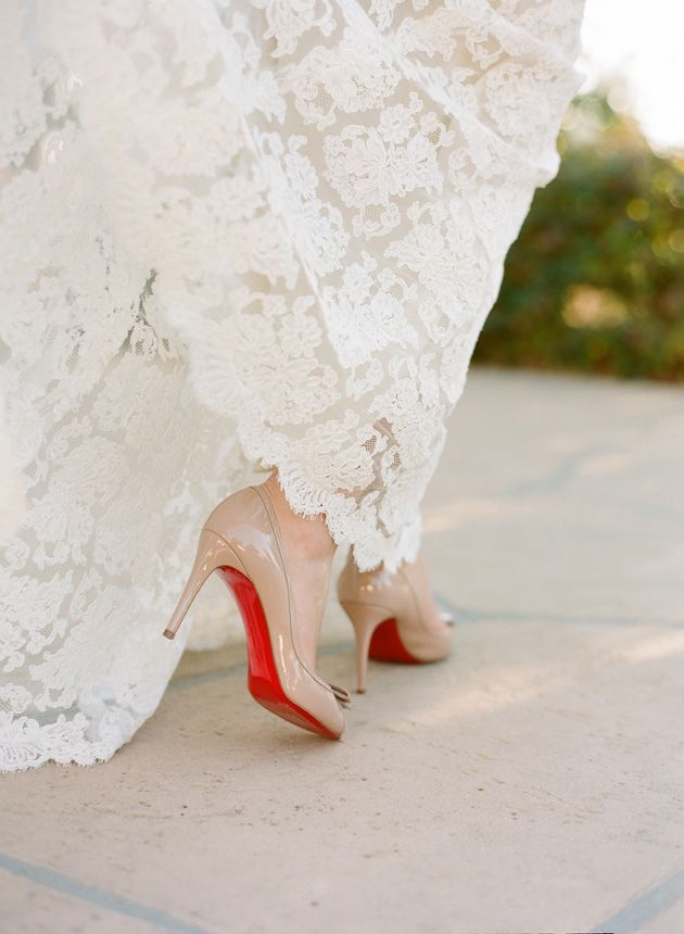 Aaahhhhh how I would love to wear a gorgeous pair of Louboutins at my wedding next April! #legallyredwishlist