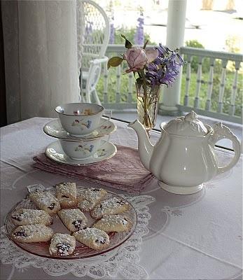 L'heure du thé - Tea time - Crumpets
