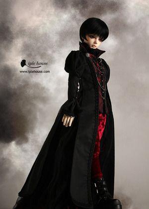 JID_Boy/Girl Evil Rose set. Одежда BJD
