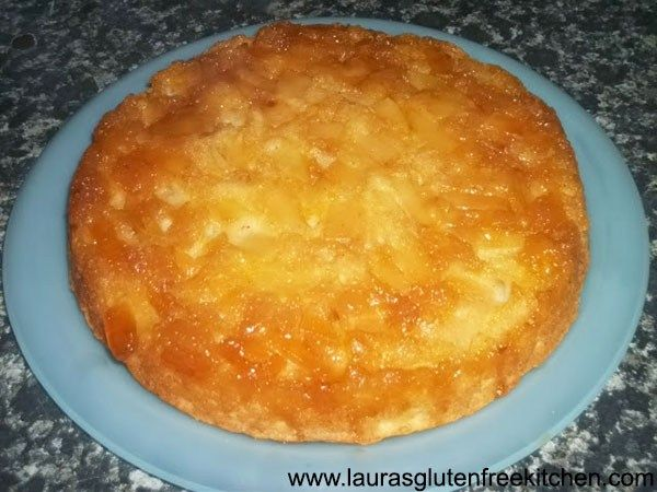 Apple Upside-Down Cake ---  i have thrown loads of apples in the cake batter.  I also put cinnamon into it to get that yum apple sugar cinnamon taste. Add pears with the apple if you wish or maybe throw in some sultanas for variety.