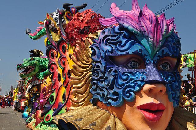 O Carnaval de Barranquilla é uma das obras mais originais da humanidade   Colombia4u