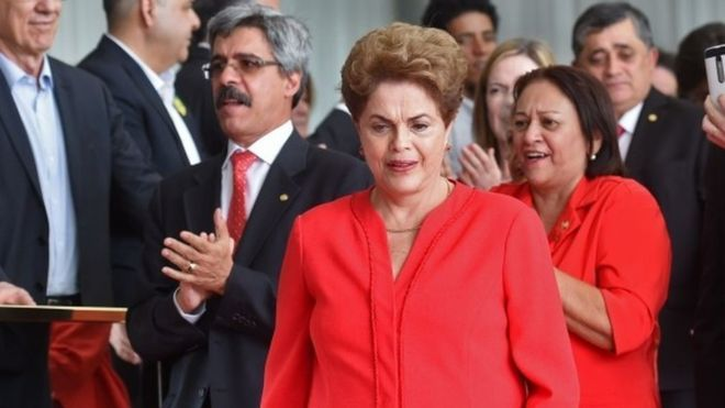Brazil President Dilma Rousseff removed from office by Senate 08.31.16