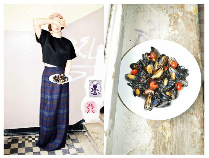 Nero do Sepia Fashion & Food Look
