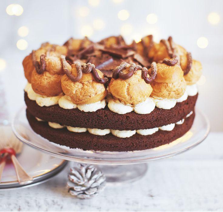 Profiterole Cake Asda