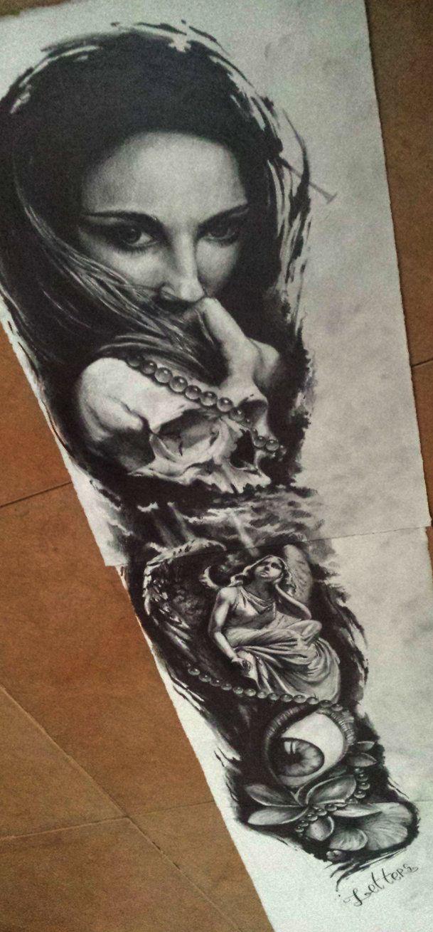 Hr giger tattoo designs - Sleeve Tattoo By Andreyskull On Deviantart