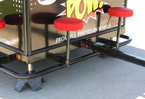 POW! Tailgate Trailer Hitch