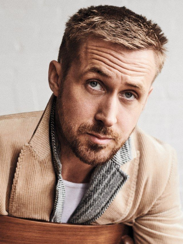 Ryan Gosling For Gq Ryan Gosling Haircut Mens Hairstyles Military Haircut