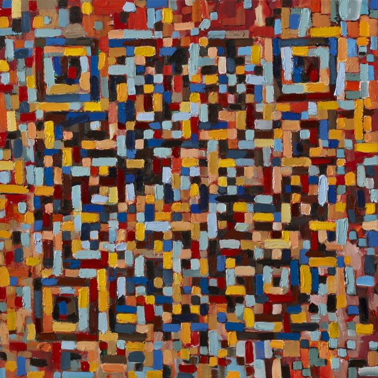trevorjonesart: QR Code Painting