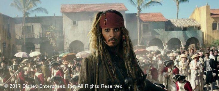 """7月1日に公開される映画「パイレーツ・オブ・カリビアン/最後の海賊」に合わせて、孤高の海賊ジャック・スパロウを演じるジョニー・デップ(54)、""""新相棒""""を演じたブレントン・スウェイツ(27)、美しい天文学者役のカヤ・スコデラリオ(25)が来日、20日に開催されるジャパンプレミアに登場する。 同作は5… / デップが20日に登場! #映画 #ジョニーデップ"""