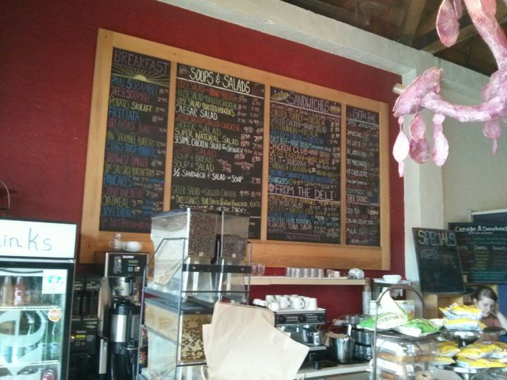 """The Wild Plum Cafe  Bakery - An organic cafe with delicious and unique salads and sandwich combinations. They also have a """"lunch box"""" option, which is perfect to grab before you head down the Big Sur coast."""