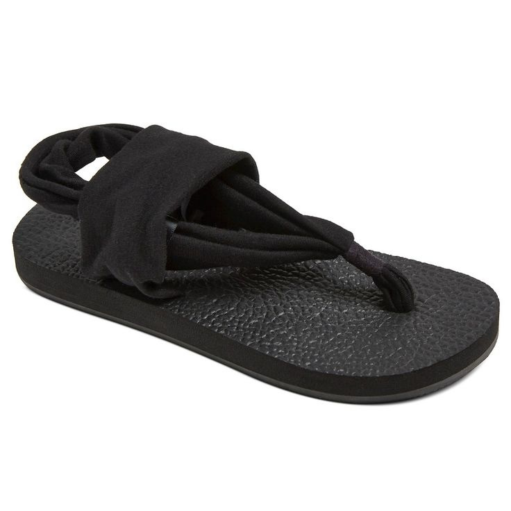 Girls' Hope Yoga Flip Flop Sandal Circo - Black XL, Girl's
