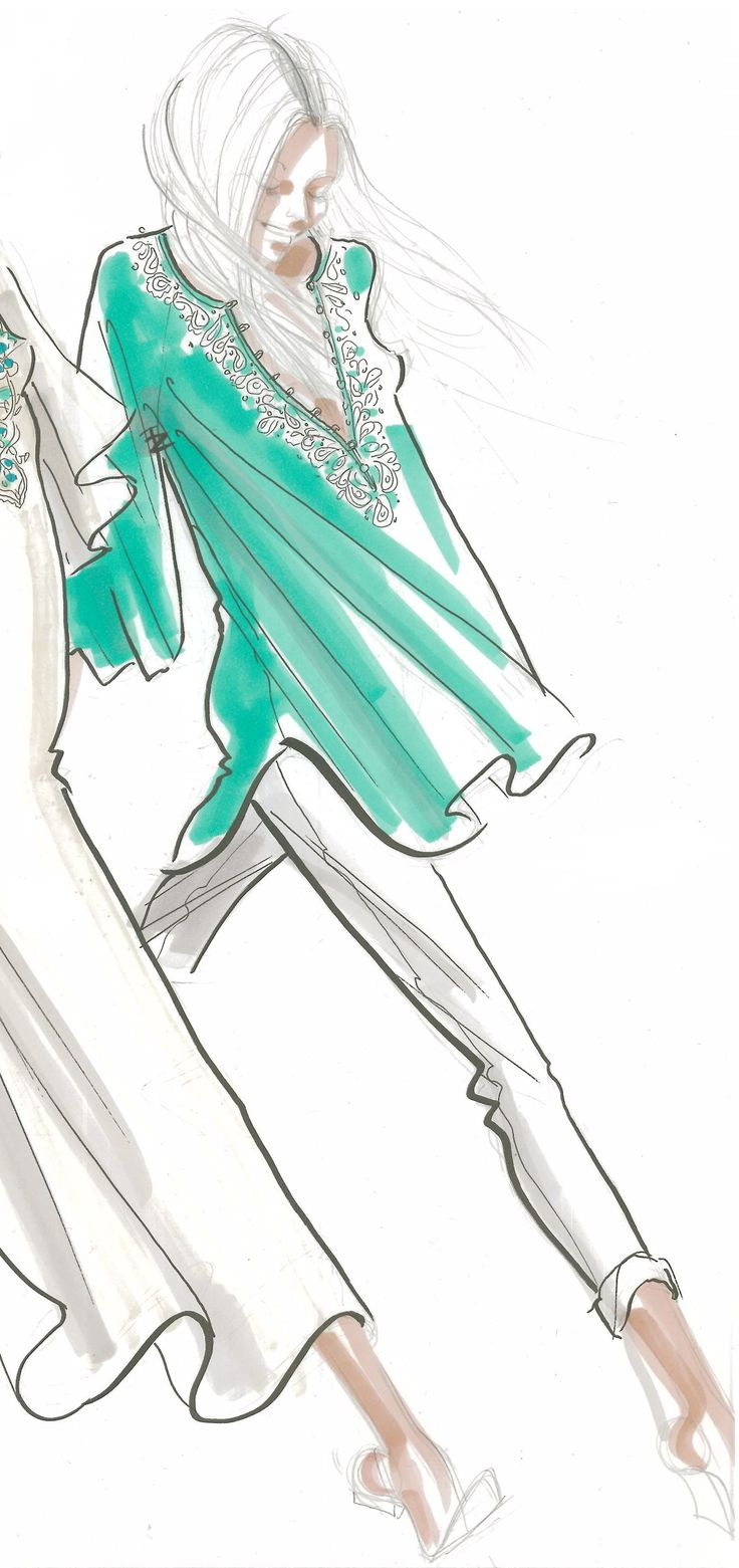 .: Scream Beaches, Fashion Design, Dion Tops, Tops Sketch, Turquoise Colors, Sketch Fashion Models, Fashion Illustrations, Fashion Sketch, Sketch Girls Fashion