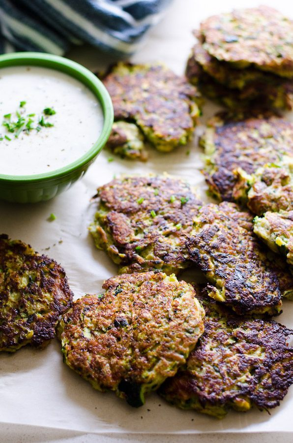 Tuna Zucchini Fritters for a 30 minute kid friendly healthy recipe with canned tuna, Parmesan cheese and a hefty dose of vegetables.   ifoodreal.com