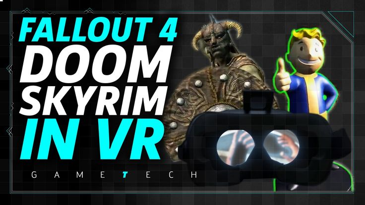 Skyrim VR confirmed for 2018 HTC VIVE release. @ 2:44