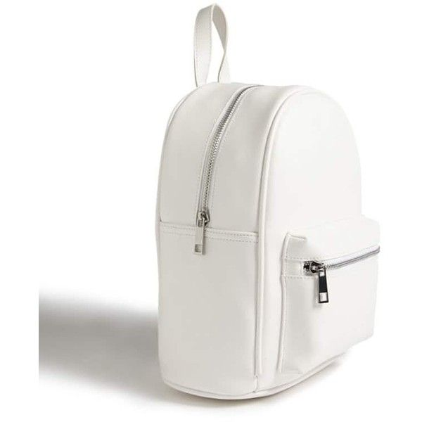 fe4b191279 Forever21 Faux Leather Mini Backpack ( 25) ❤ liked on Polyvore featuring  bags