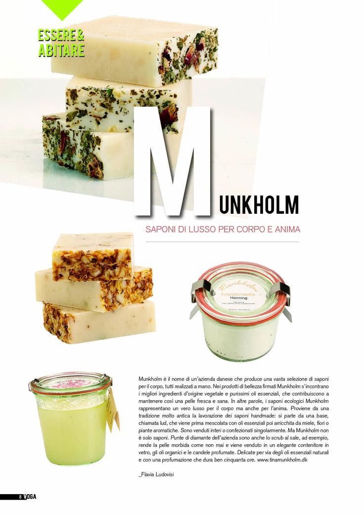 Munkholm - Saponi di lussi per corpo e anima