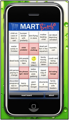 Walmart BINGO!  An app for your phone=awesome!!!