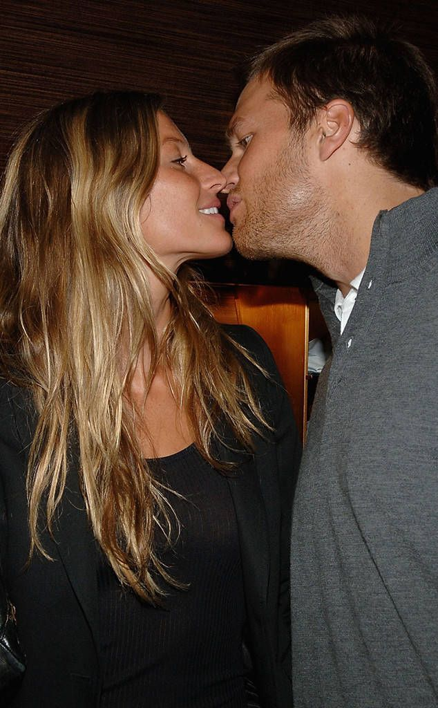 Young and in Love: tom-brady-and-gisele-bundchen-romance-rewind