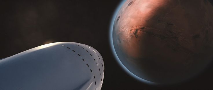 Elon Musk Details His Vision For A Self-Sustaining City On Mars - SpaceX CEO Elon Musk lays out a vision for colonizing Mars in a paper summarizing a recent talk.