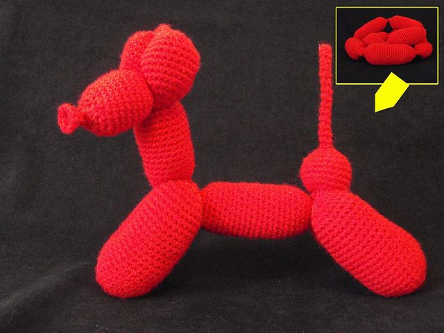 I think I am going to rework the Lion Brand Balloon Animals this way.    www.ravelry.com/...