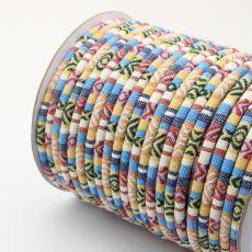 Sznurek bawełniany MASAJKA pastel 6,5mm [0,5metra]
