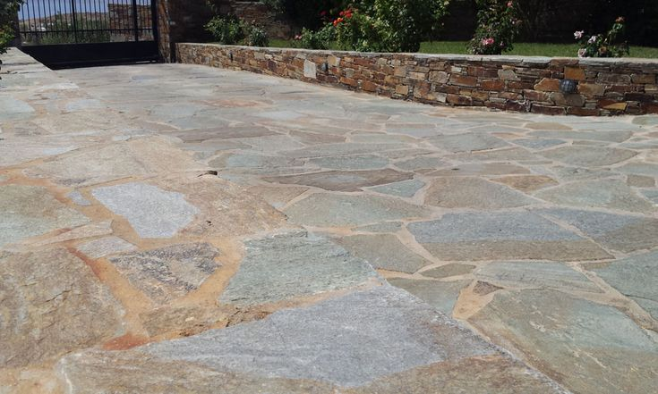 Crazy Paving is an ideal solution for paving and wall cladding . Crazy paving, also known as polygonal paving or random crazy paving, has many uses and can be placed in backyards, patios, pools, garages, walkways,driveways and gardens. Random paving is wi