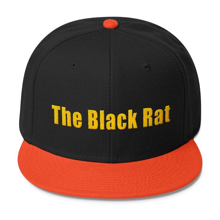 The Black Rat - Wool Blend Snapback