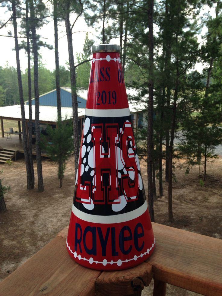 Best 25 cheer megaphone ideas on pinterest cheerleader for Cheerleading decorations