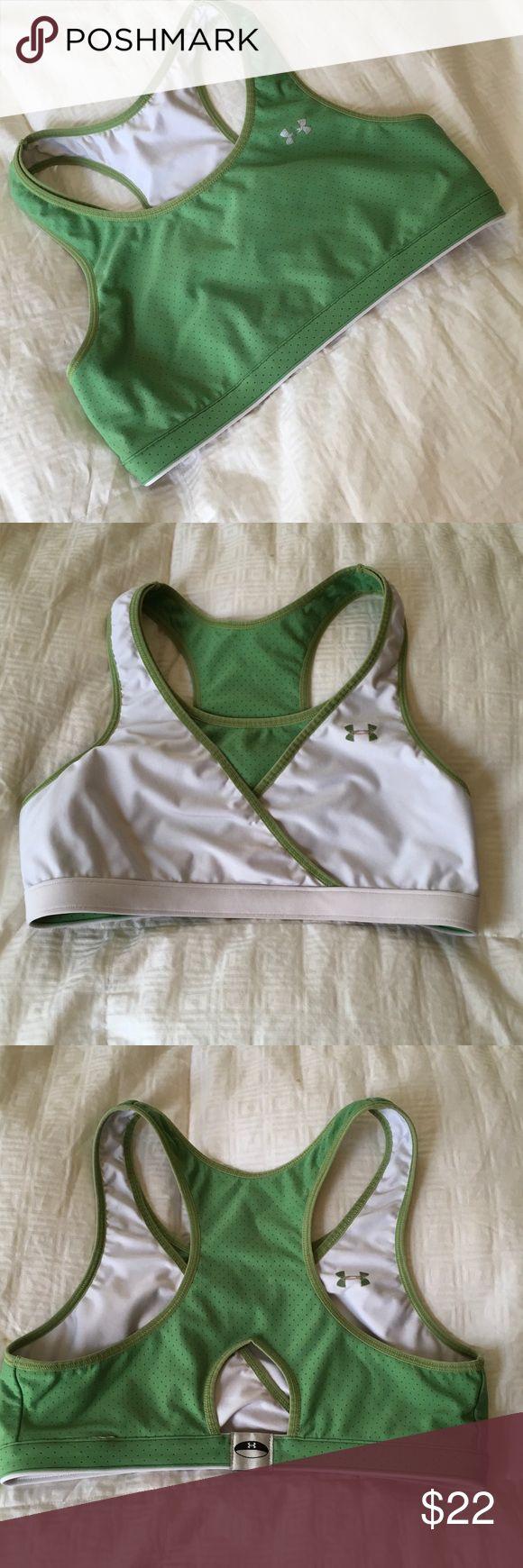 Under armor jog bra size medium . Worn only a handful of times Under Armour Intimates & Sleepwear Bras
