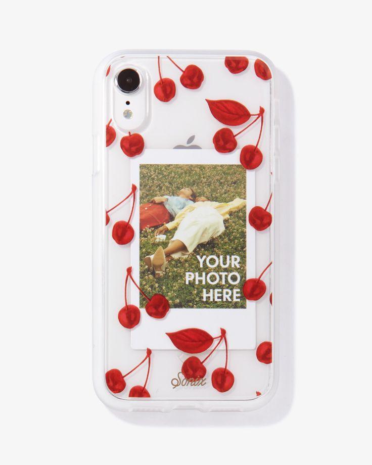 Cherry photo case iphone xr iphone cases case sonix case
