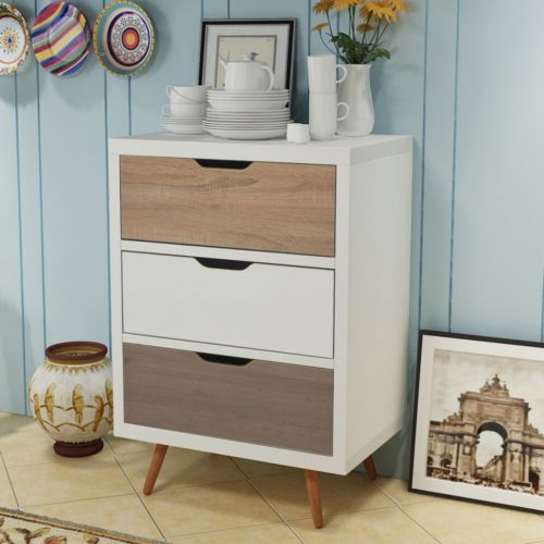 Retro-Chest-of-Drawers-Scandinavian-Storage-Unit-Cabinet-Dresser-Sideboard-Table