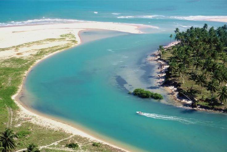 Praia de Duas Barras - Alagoas - Brasil.