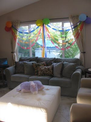 Balloons and Streamers