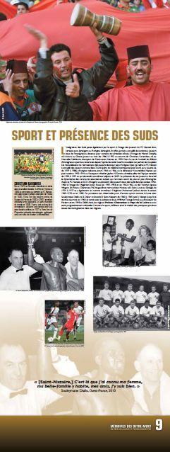 N°9 : Sport et présence des suds. L'intégration des Suds passe également par le sport à l'image des joueurs du FC Nantes dont certains sont étrangers ou d'origine étrangère. © Groupe de recherche Achac