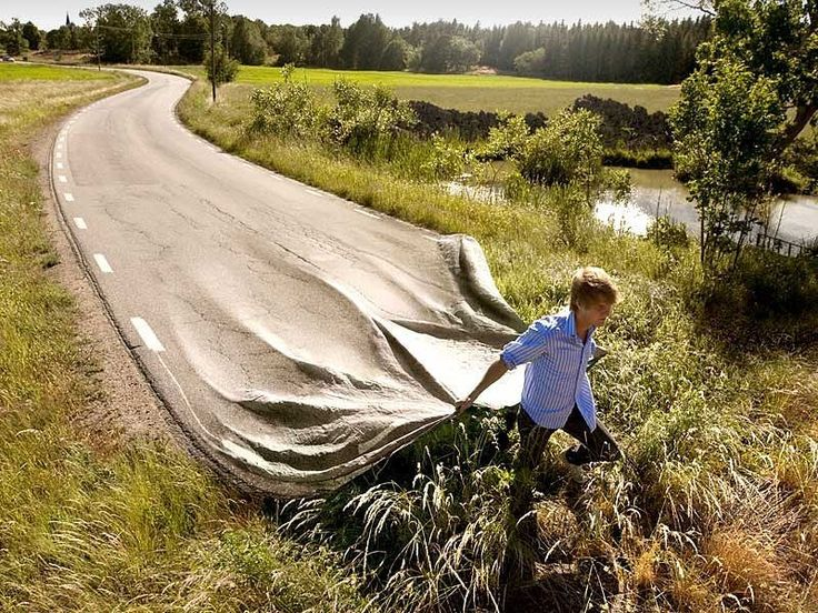 """Erik Johansson is a Swedish-born artist who creates surreal images by recombining photographs and other materials. He captures ideas by combining images in new ways to create what looks like a real photograph yet with logical inconsistencies to impart an effect of surrealism.  Some finished images are the combination of """"hundreds of original photographs"""" as well as raw materials and Johansson spends dozens of hours using image manipulation software to alter the image digitally and to…"""