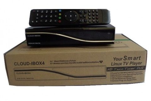 Cloud Ibox 4 twin tuner satellite tv receiver
