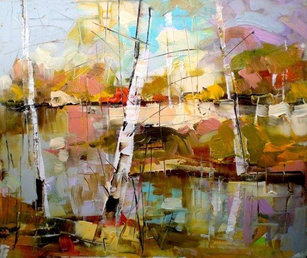 Paintings by Lyubomir Kolarov