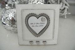 Lace Personalised Free Standing Plaque